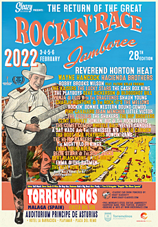 The Lucky Stars at 2022 Rockin' Race Jamboree